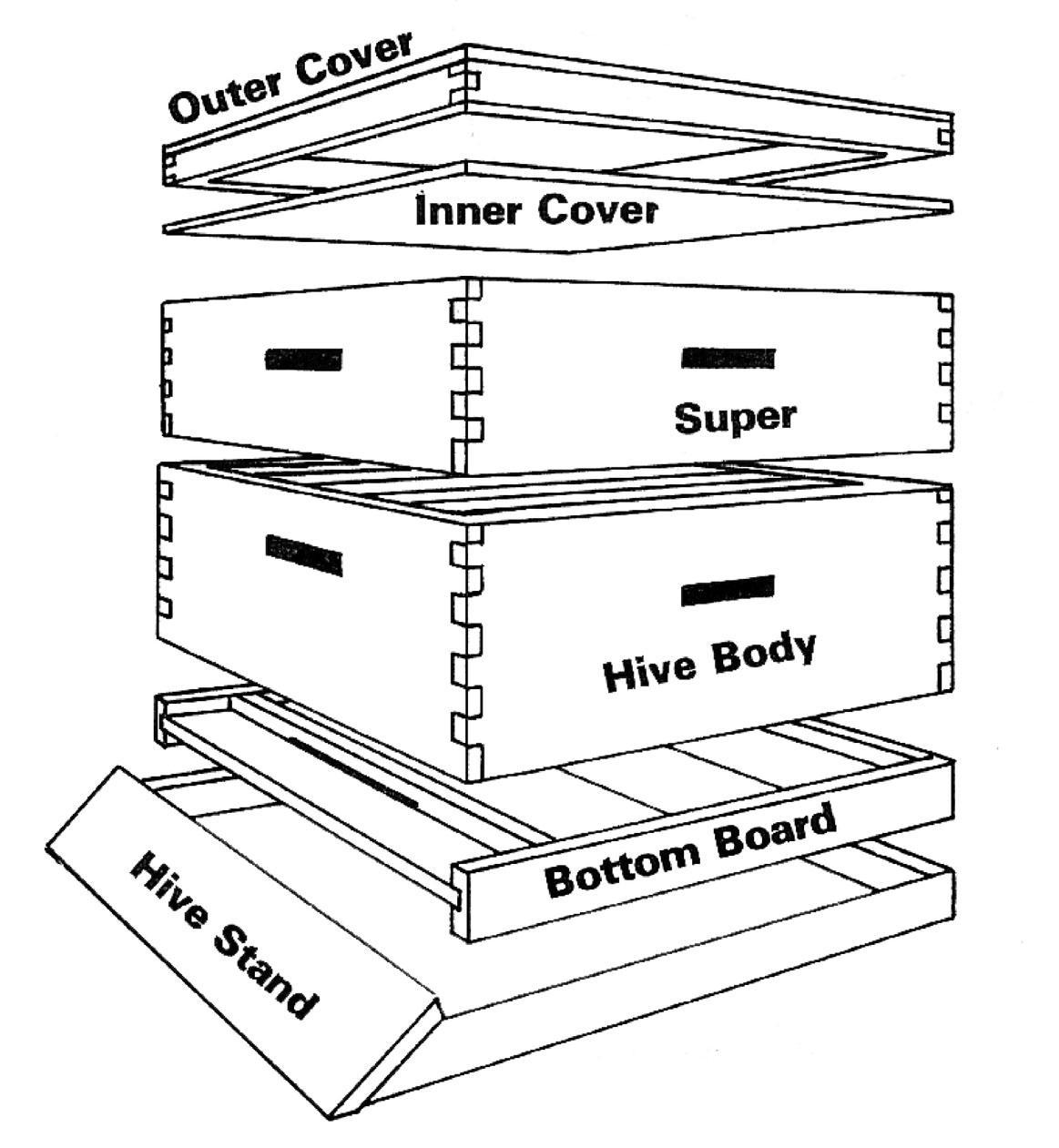 Home sweet home ottawa honey house for Beehive plans blueprints